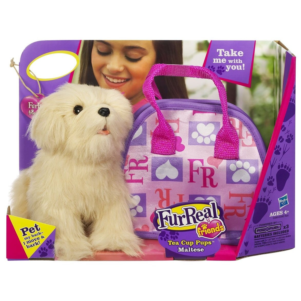 Furreal Friends Teacup Pets Maltese Puppy With Bag By Furreal Shop Online For Toys In New Zealand
