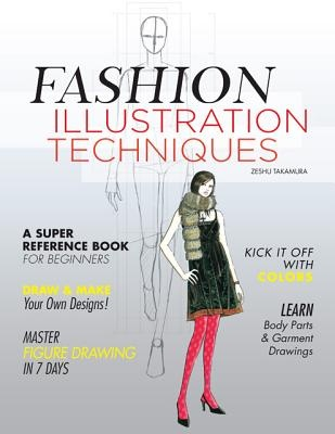 Fashion Illustration Techniques Zeshu Takamura Shop Online For Books In New Zealand