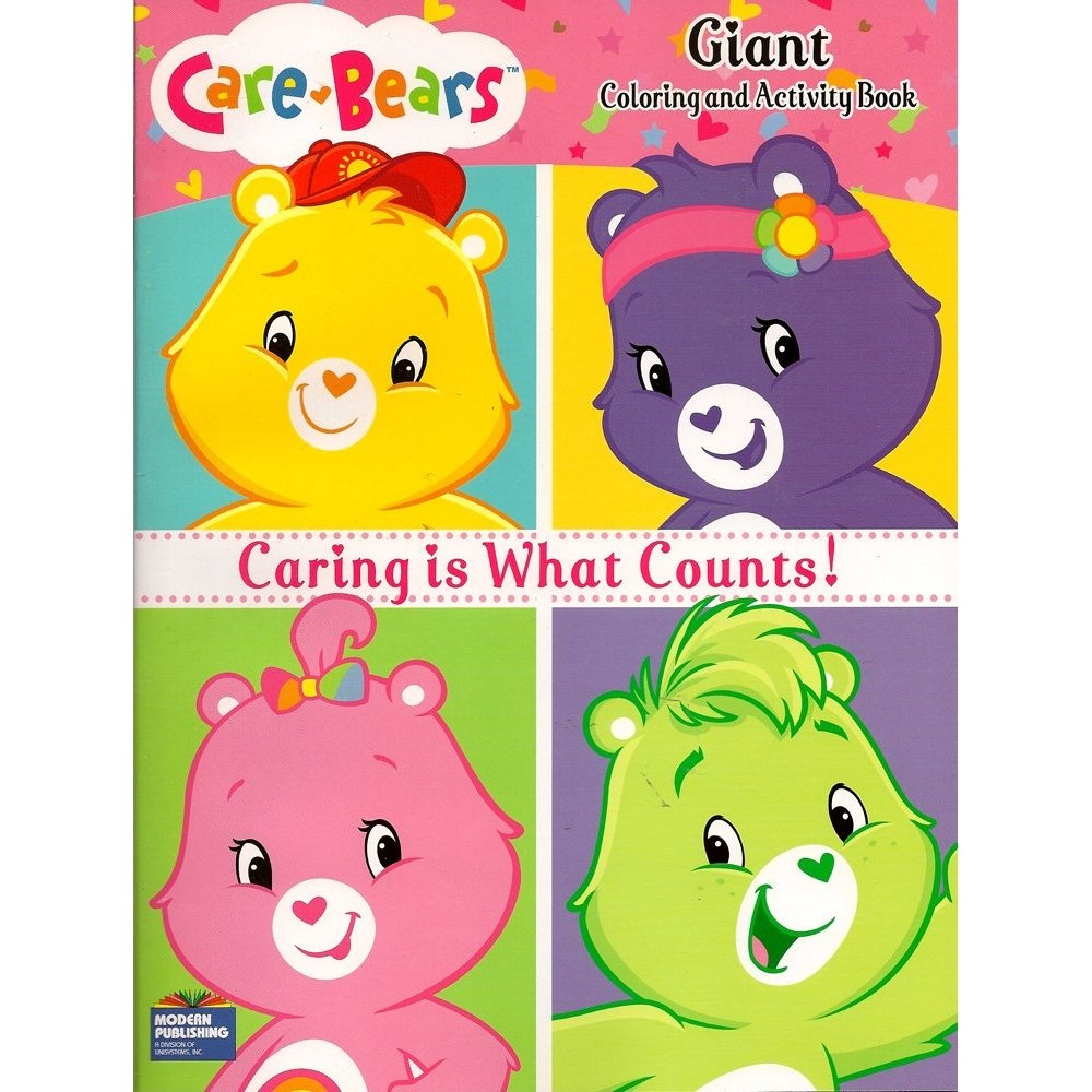 Care Bears Colouring & Activity Book ~ 96 Pg By Care Bears - Shop