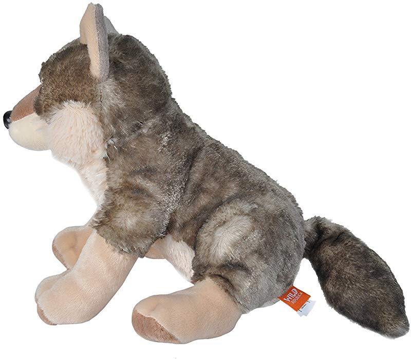 "12/"" Wolf Soft Toy Animal Wild Republic Cuddlekins 30cm Europe"