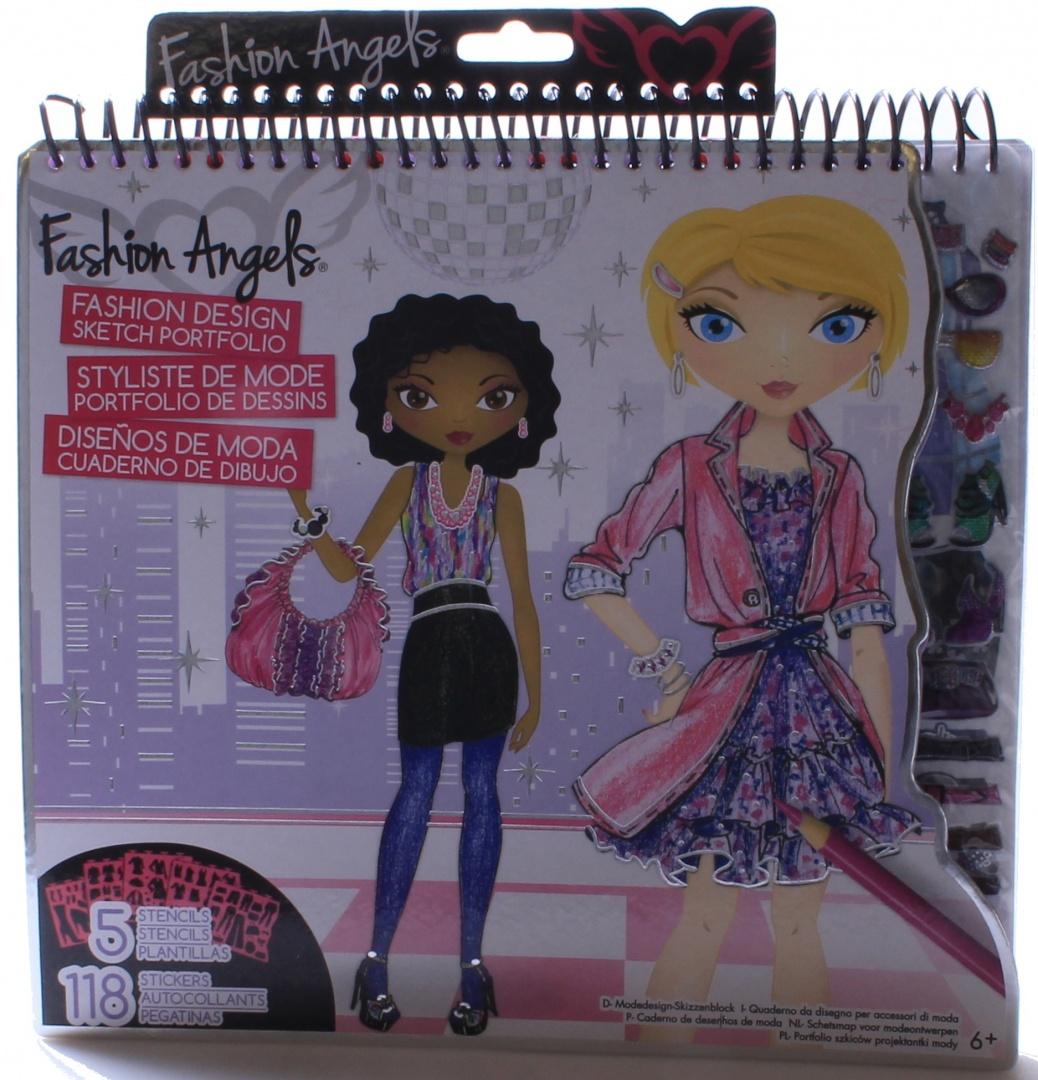 fashion angels interior design sketch portfolio painting