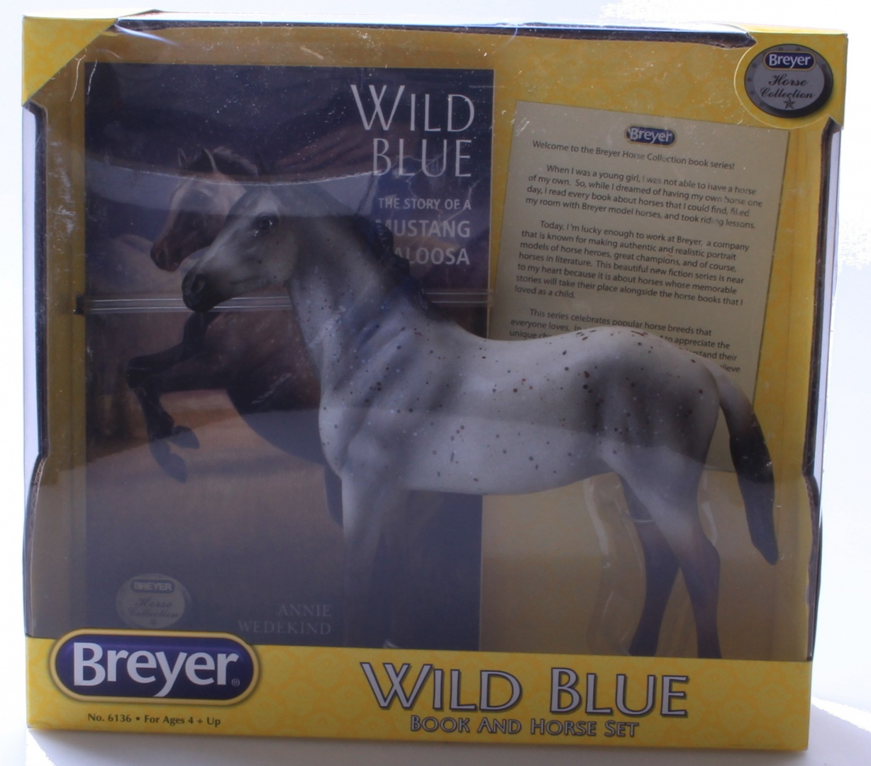 Breyer Horse Figurine And Book Set Wild Blue By Breyer Shop Online For Toys In New Zealand