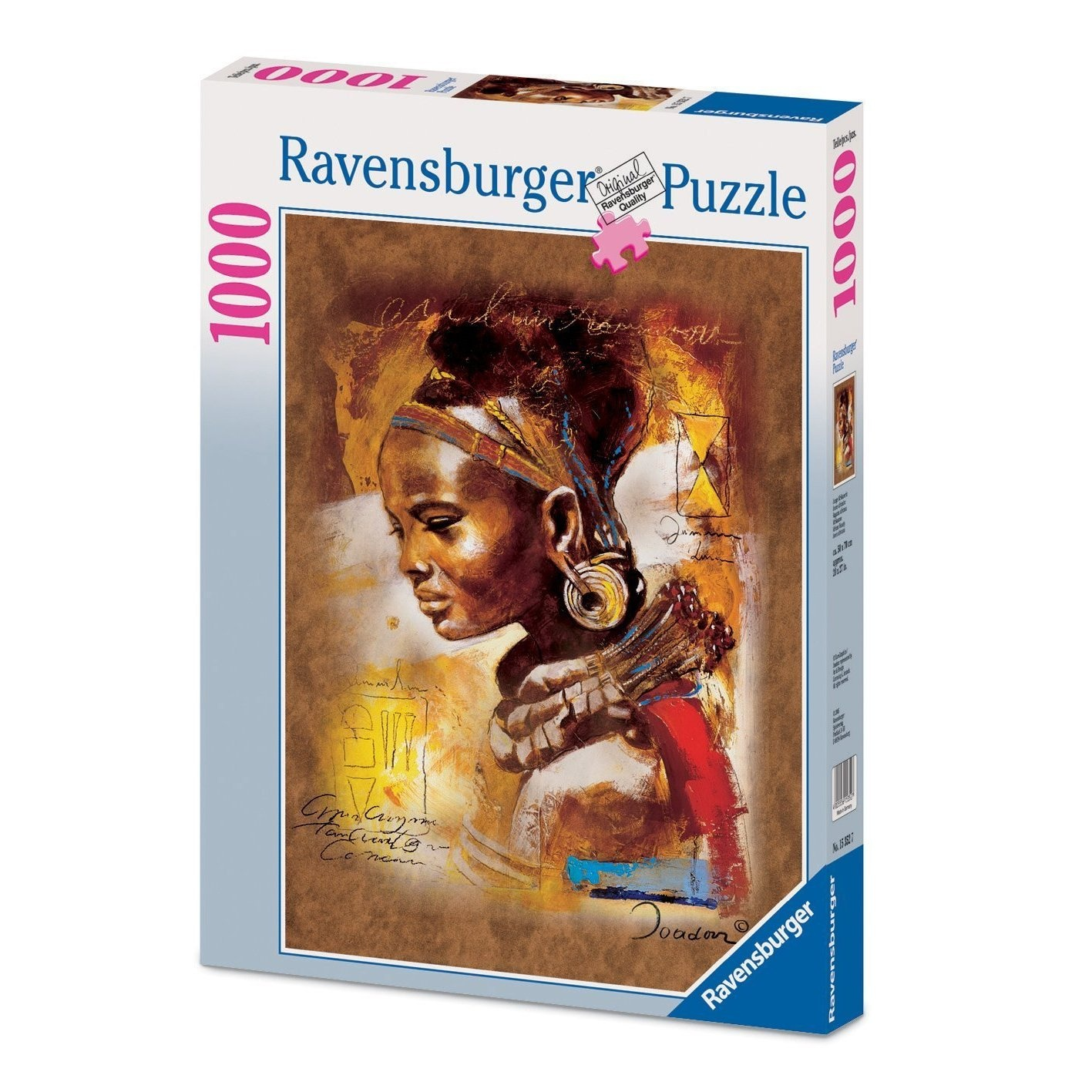 African Beauty Ravensburger Puzzle 1000 pieces