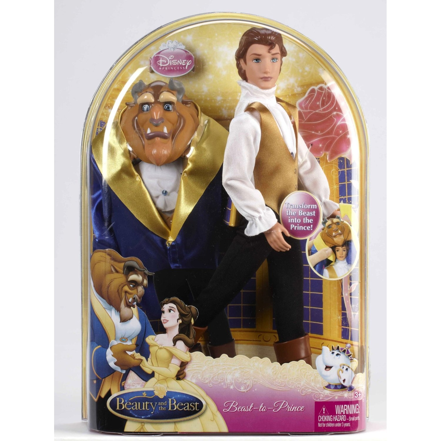 Beauty And The Beast Beast To Prince Doll By Mattel Shop Online For Toys In New Zealand