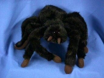 Tarantula Stuffed Animal, Tarantula Spider Plush Animal Stuffed Toy 23cm L By Platte River Trading Shop Online For Toys In New Zealand