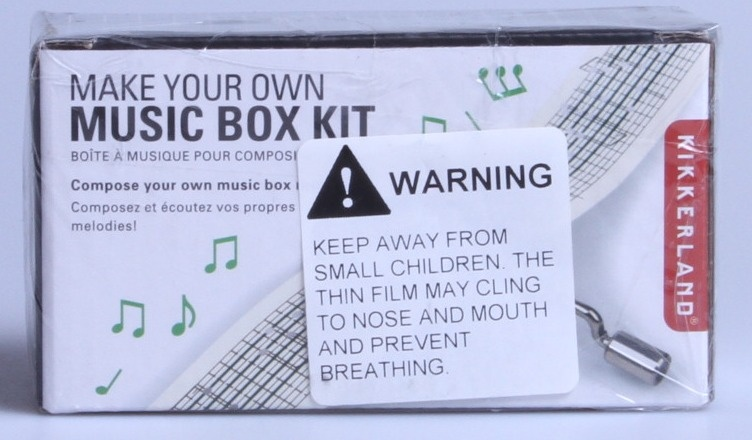 Kikkerland 1200-R Paper Refills Make Your Own Music Box
