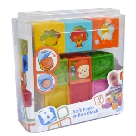 B Kids Soft Peek a Boo Block BKids 003659