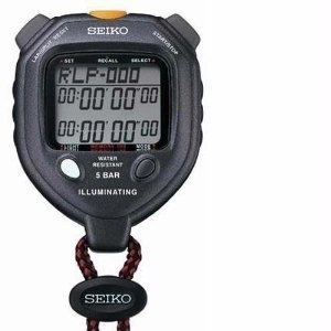 SEIKO S058 100-Lap Backlit Stopwatch Dual Countdown