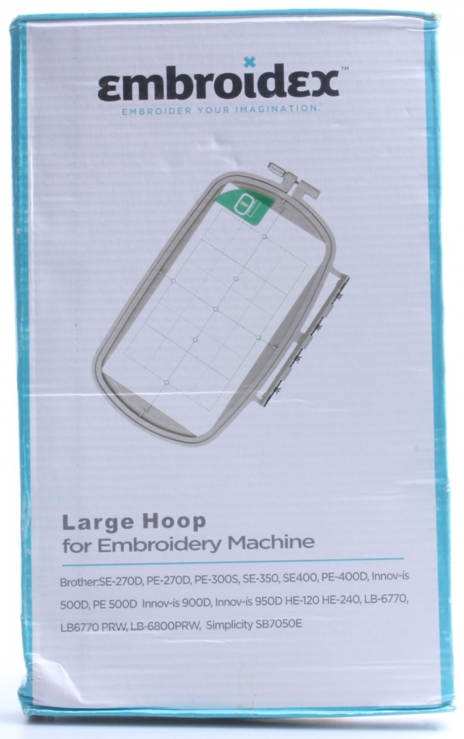 3 IN 1 Embroidery Machine Hoops for Brother SE350 SE400 LB6770 LB6800 SE270D HE120 HE240 NV500D NV900D NV950D PE300 PE400D PE500 PE 540D PE525 PE SE270D Babylock Intrigue BLI Embroidery Machine