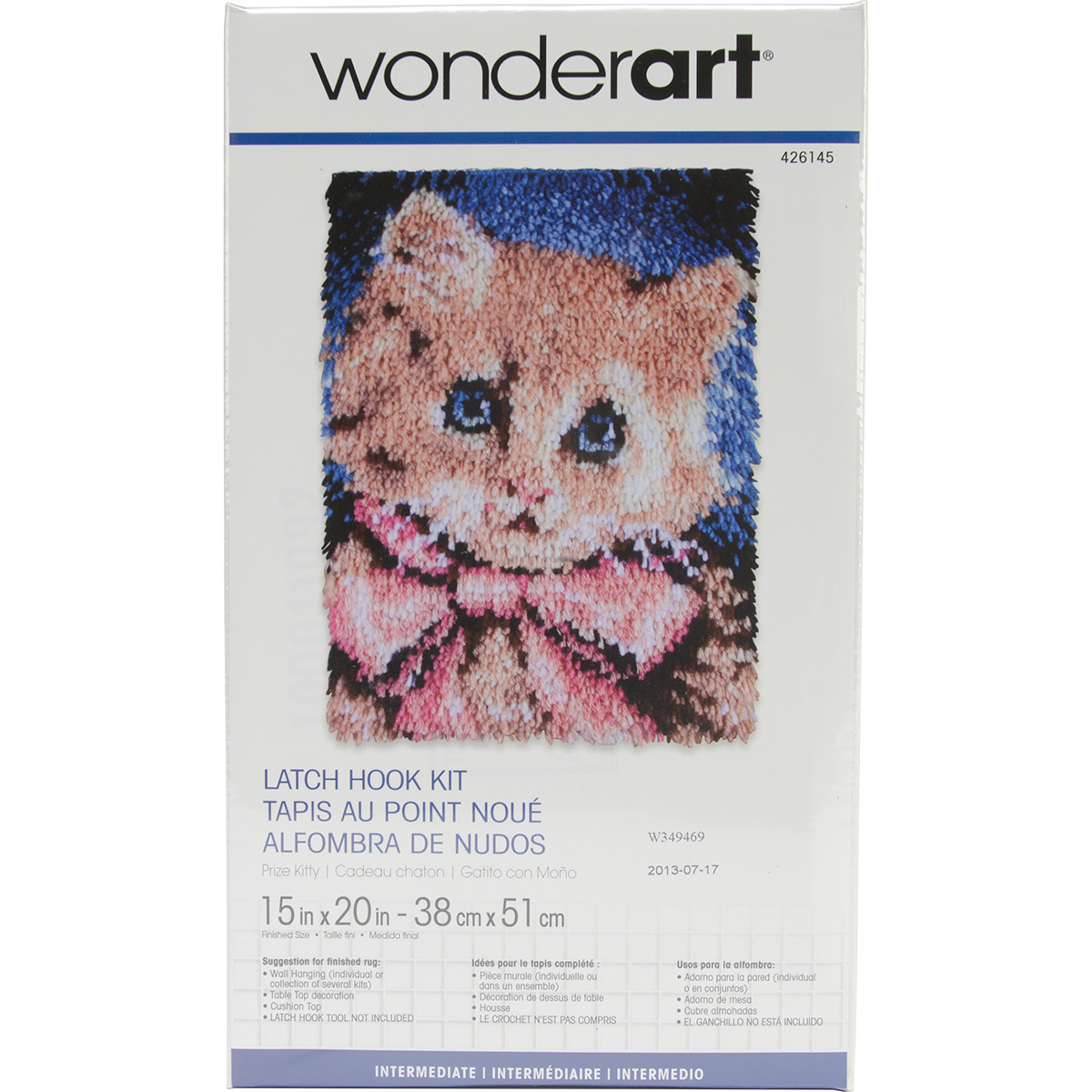 Patons Wonderart Prize Kitty Latch Hook