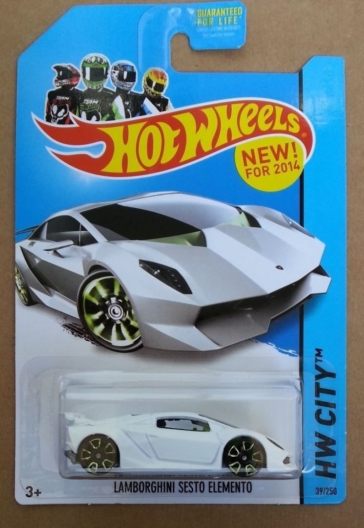Hot Wheels Hw City Lamborghini Sesto Elemento White 39 250 By Hot Wheels Shop Online For Toys In New Zealand