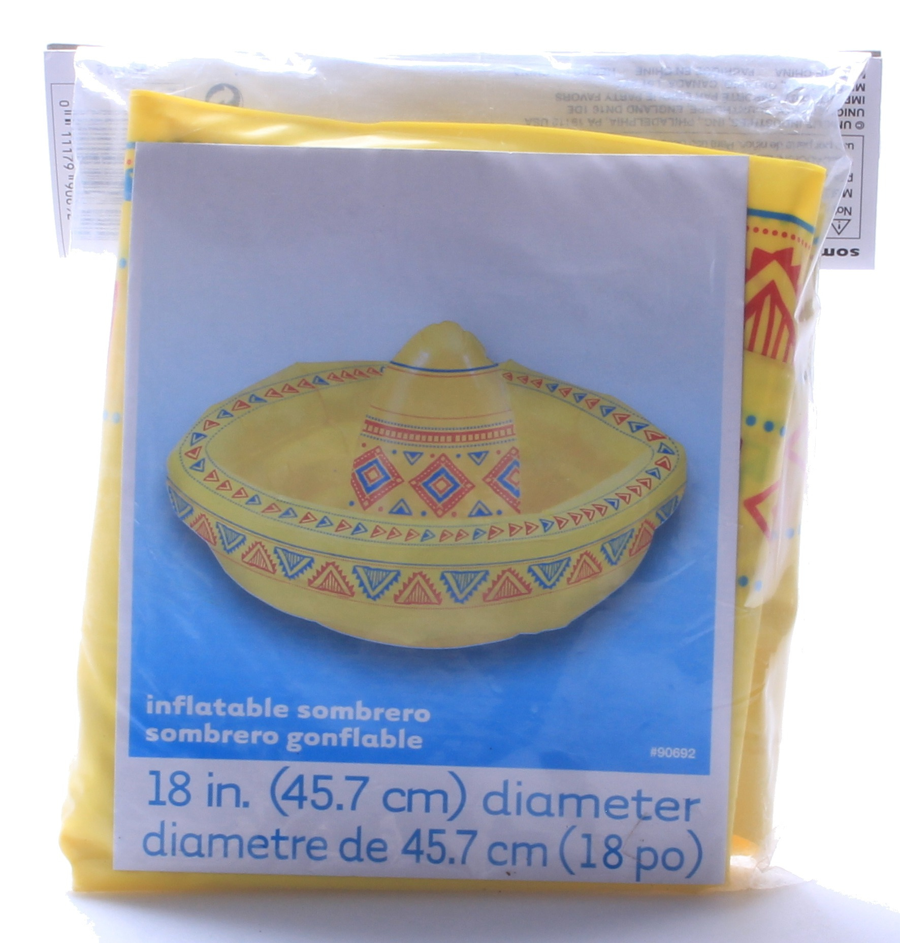 Inflatable Sombrero Unique 90692