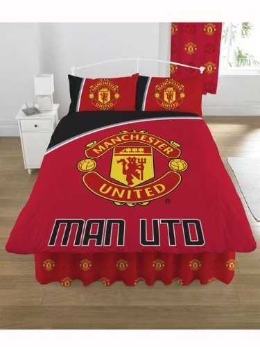 Manchester United Football Soccer Motion Double Duvet Cover Set By Jumbo Megastore Shop Online For Homeware In New Zealand