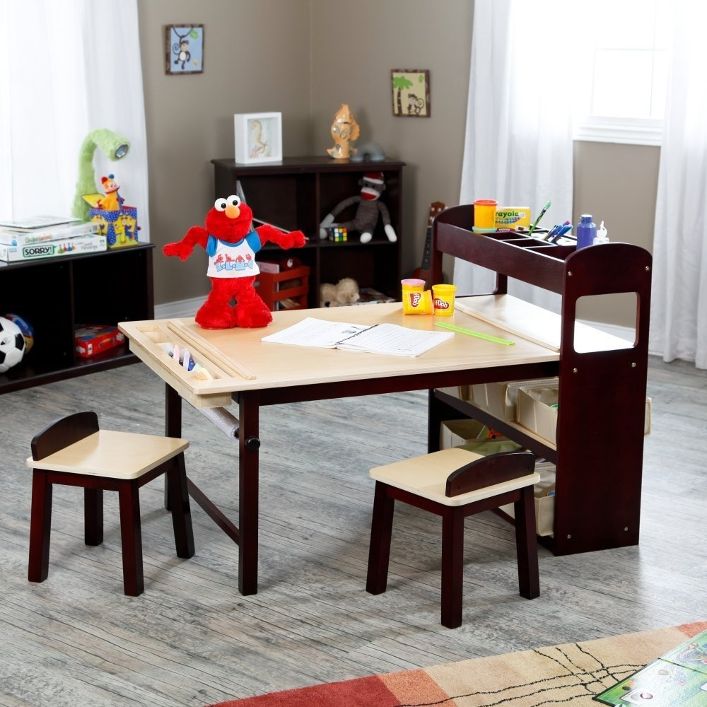 Guidecraft Guidecraft Kids Deluxe Art Centre Wood Table 21h In By Guidecraft Shop Online For Arts Crafts In New Zealand