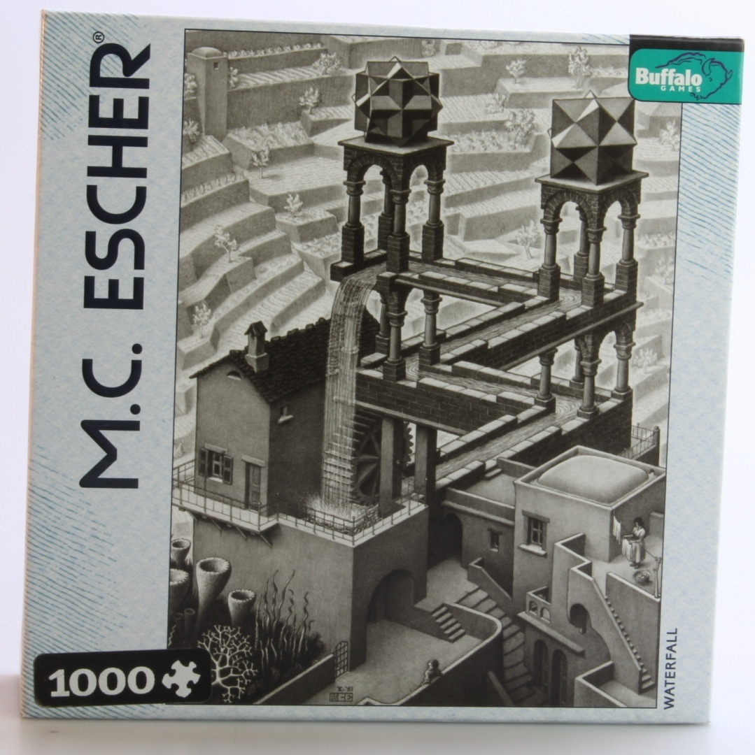 Buffalo Games M C Escher Waterfall 1000pc Jigsaw Puzzle By Buffalo Games Shop Online For Toys In New Zealand