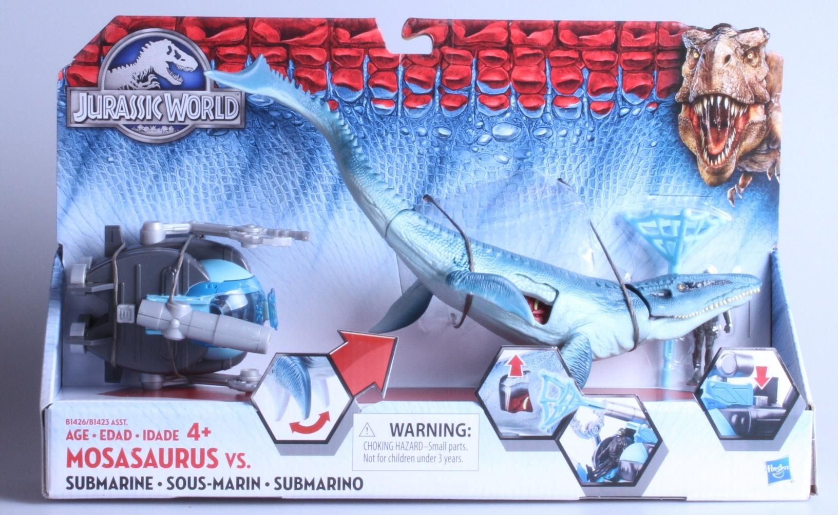 Submarine Pack Hasbro B1426AS0 Jurassic World Mosasaurus vs