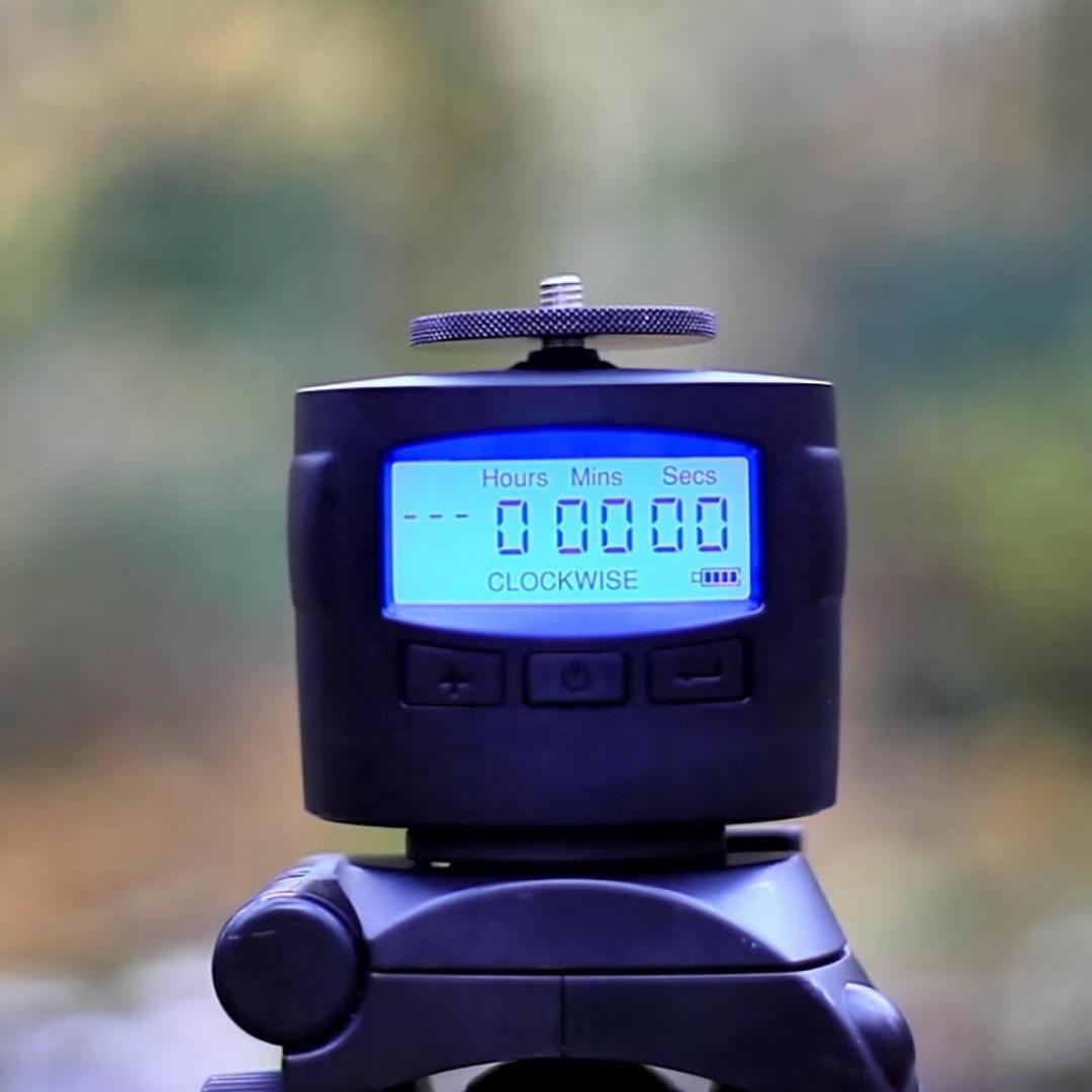 Panning Rotating 360 for GoPro DSLR iPhone TurnsPro Motorised Pan ...