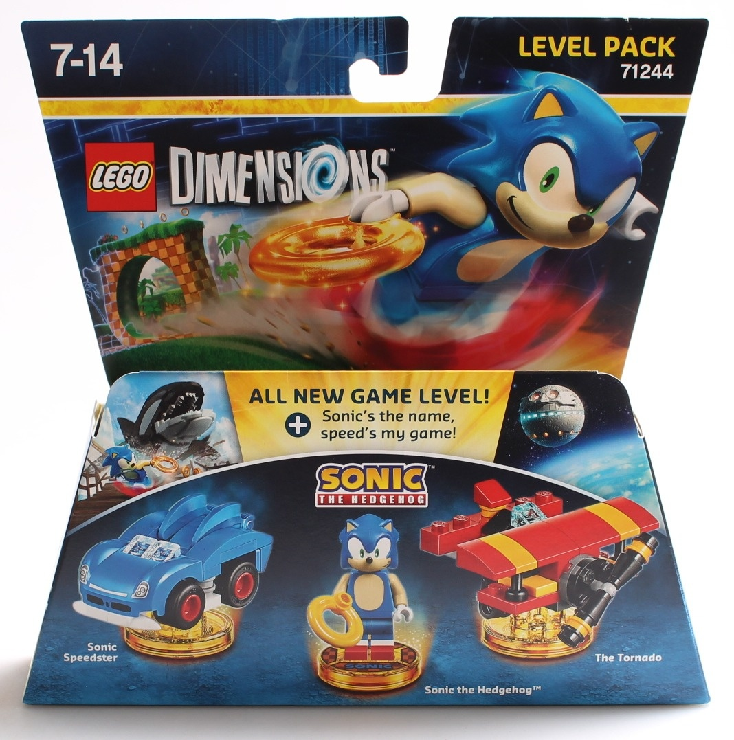 LEGO DIMENSIONS LEVEL PACK SONIC THE HEDGEHOG ACC NEW
