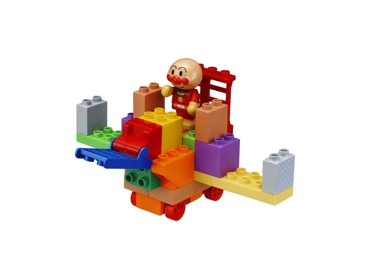 Block lab Anpanman Let/'s create Anpanman GO and Transform Vehicles Block set