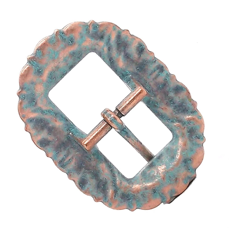 "Sunburst Buckle Antique Copper 3//4/"" 2678-90"