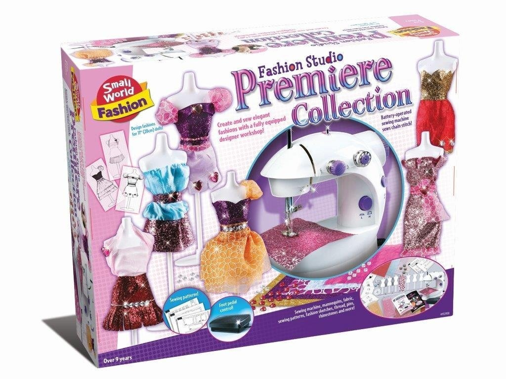 Make Your Own Fashion Studio Premier Collection Design Fashion Kit Number 1 Creative Easter Present Gift Fun Arts Crafts Games Toys Idea Age 9 Girls Girl Child Kids