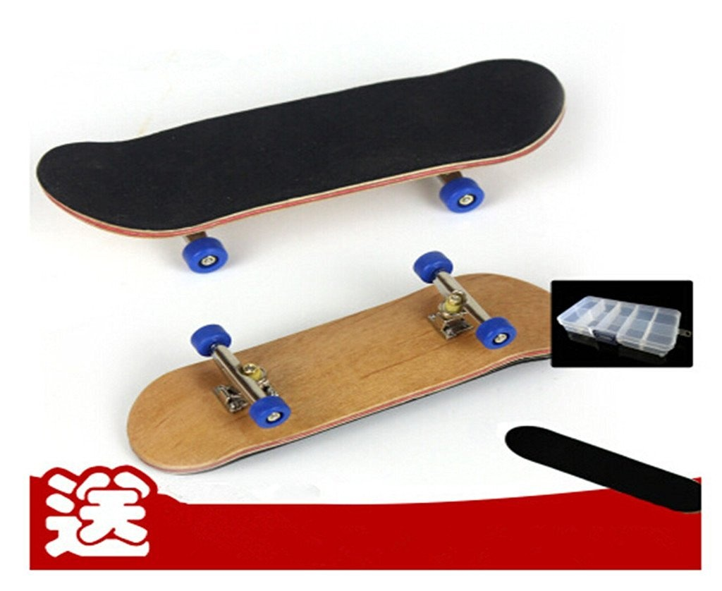 Remeehi Professional Maple Wooden Fingerboard Skateboards Metal Nuts Trucks Basic Bearing Red Wheel
