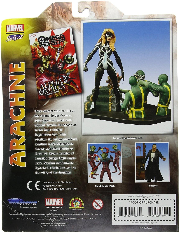 Marvel Select Arachne Action Figure Diamond