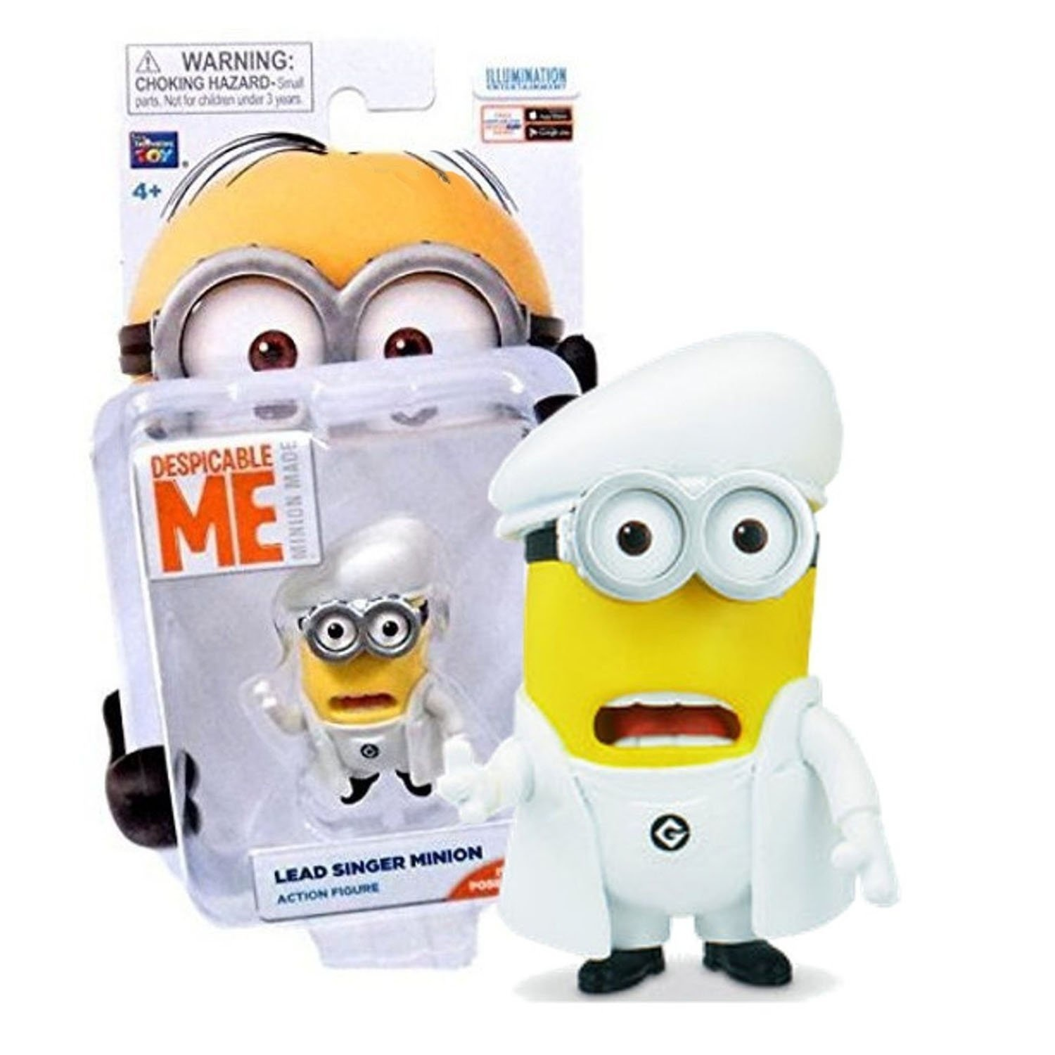 Despicable Me Movie  Little Pig  Bob Minion Made Poseable Action Figure