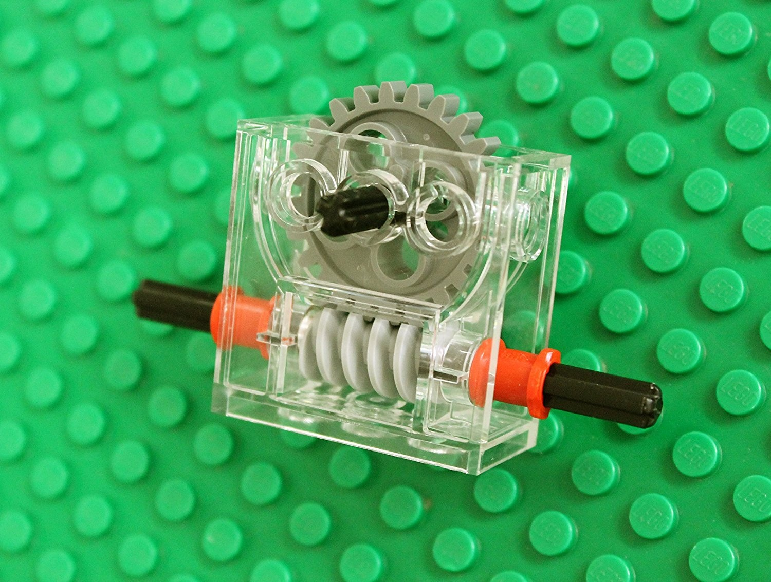 Lego Gear REDUCER Blocks technic,mindstorms,nxt,gearbox,worm,axle,compact,robot