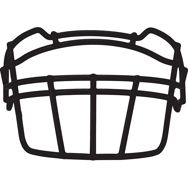 Schutt Sports VROPO TRAD Carbon Steel Vengeance Varsity Football Faceguard White