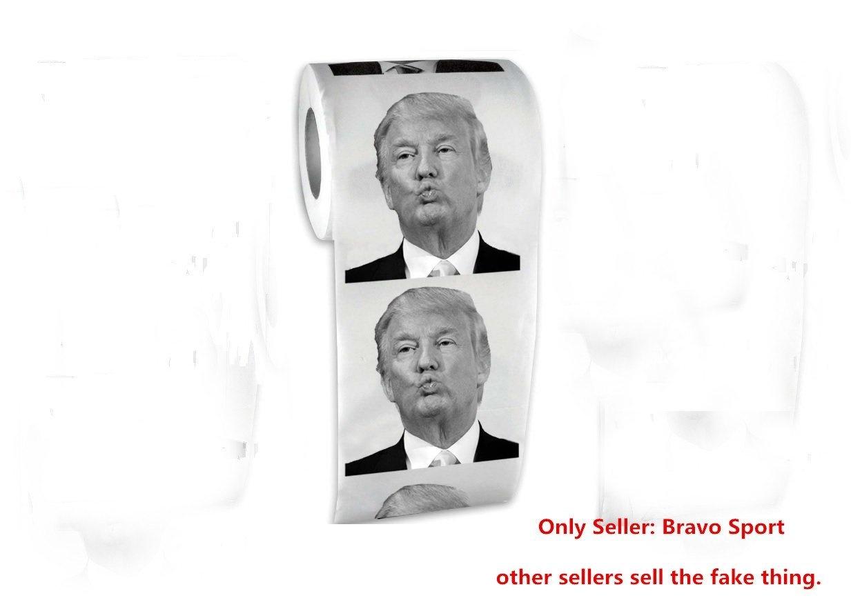 Bravo Sport Donald Trump Toilet Brush Funny Political Gag Gift Make Toilet Great Again