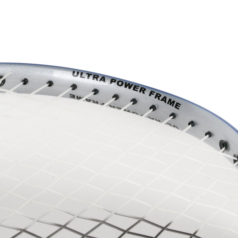 Blue//White 88g Victor Ti 7 Graphite Badminton Racquet