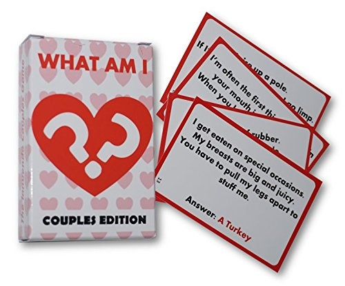 What Am I Game Valentines Day Gift For Him Her Anniversary Boyfriend Girlfriend Love Present By Uk Party Games Shop Online For Toys In New Zealand