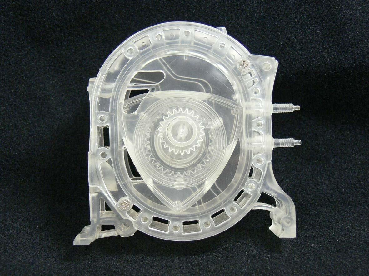 New Aoshima 1//5 Scale Rotary Engine No 02 Toy