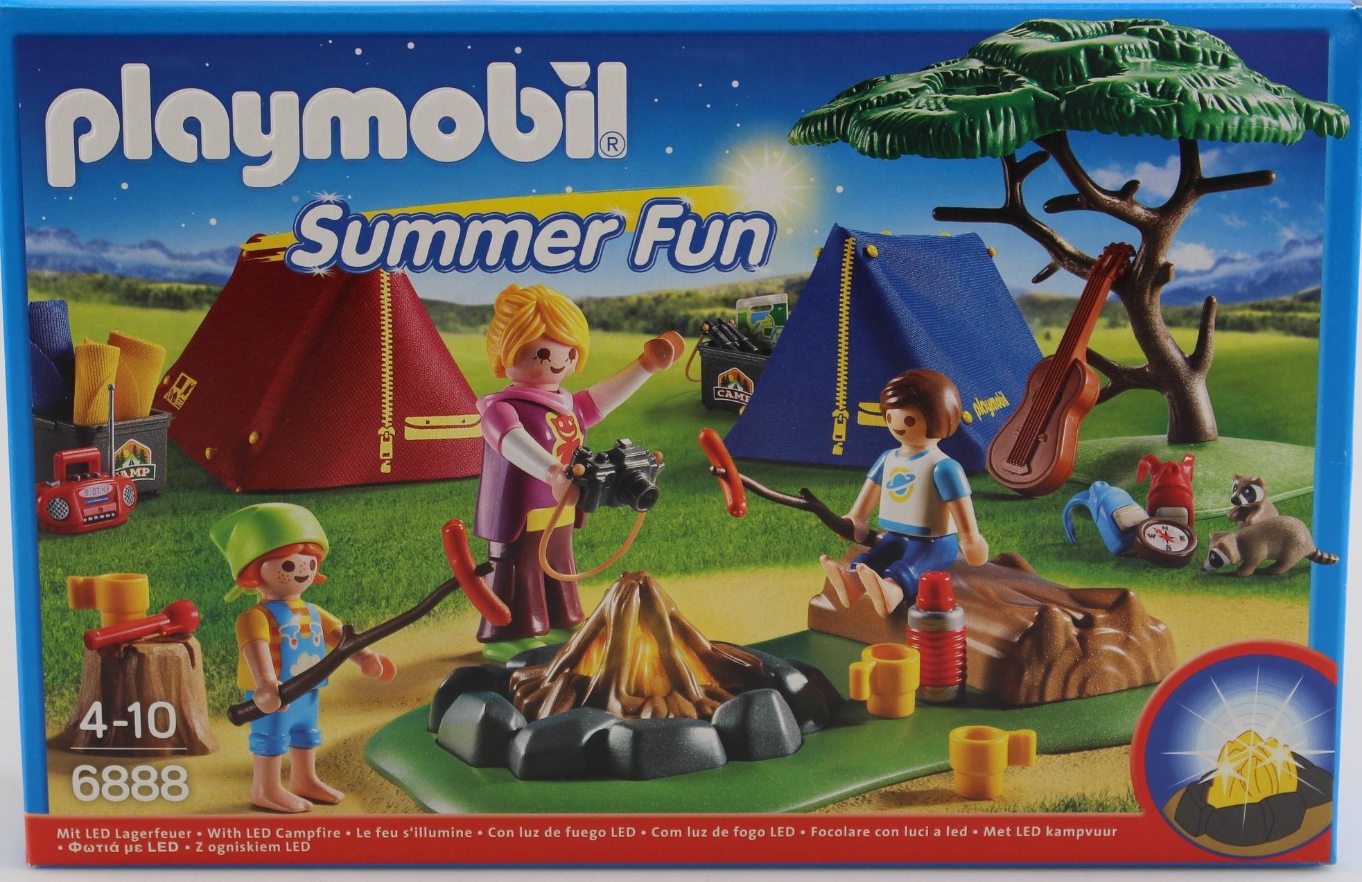 Children's Lighting Playmobil 6888 Summer Fun Camp Site ...