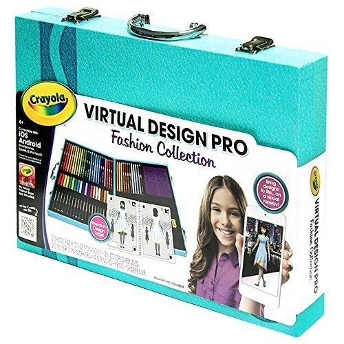 Crayola Virtual Design Pro Fashion Set By Crayola Shop Online For Toys In New Zealand