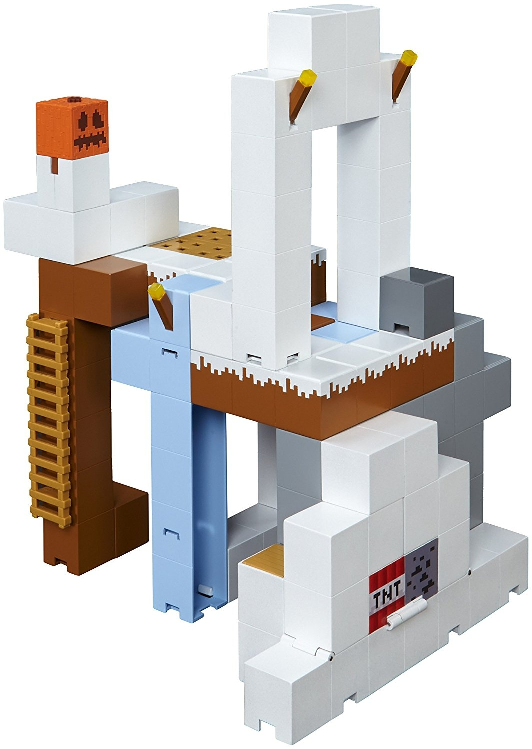 Minecraft Tundra Tower Expansion Playset NEW FDC43 Includes Zombie Villager 6+