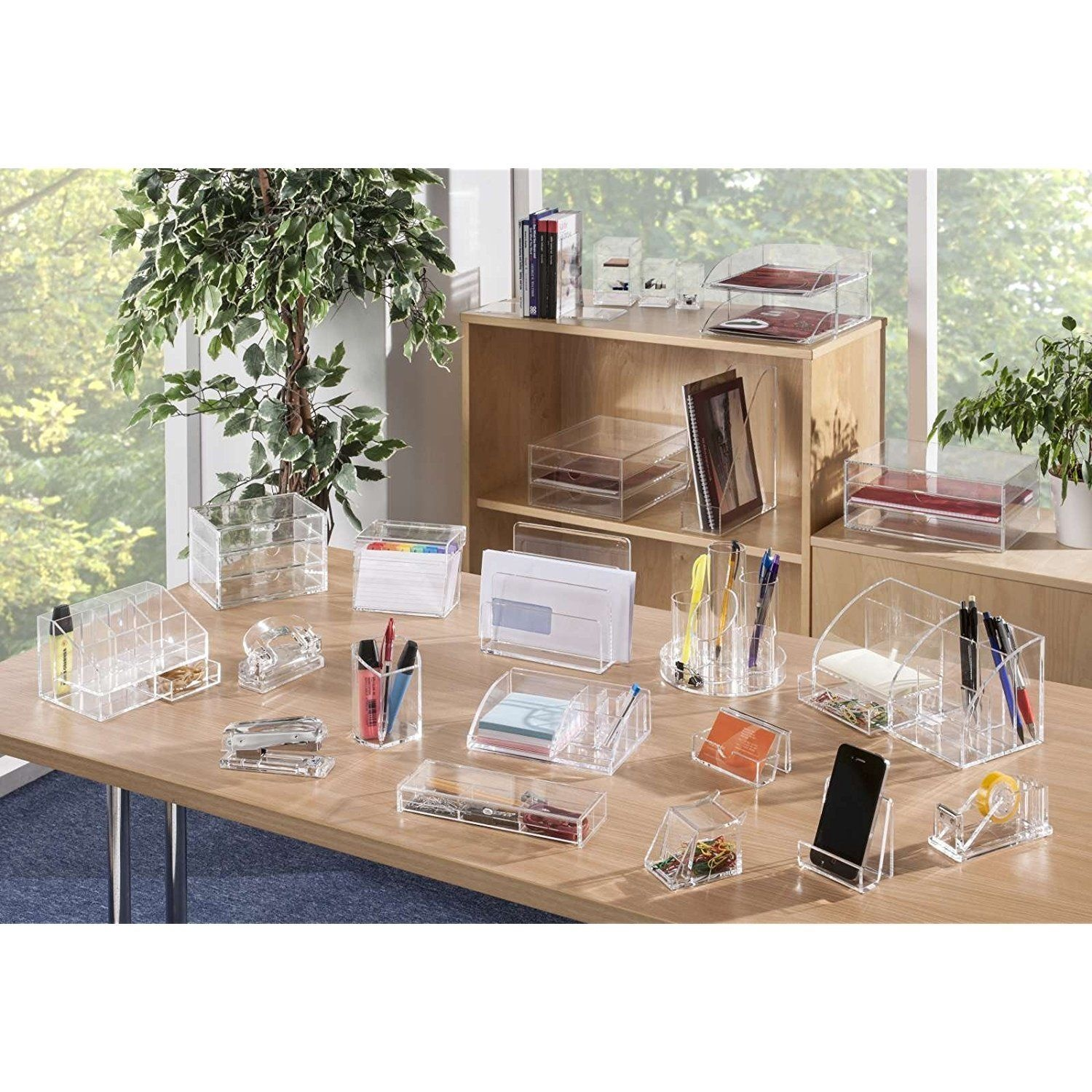 Pencil Holders Desk Accessories & Storage Products OSCO Acrylic 43