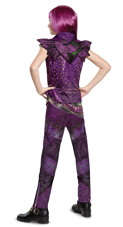 Disney Mal Classic Descendants 2 Costume Purple X-Large 14-16