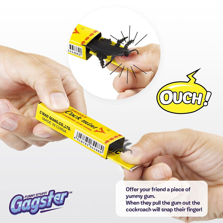 Prank Roach Chewing Gum