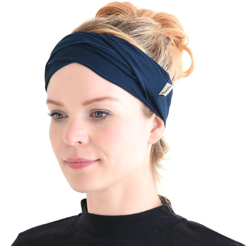 CHARM Casualbox Mens Bandana Headband Long Hair Band Dreads Head Wrap