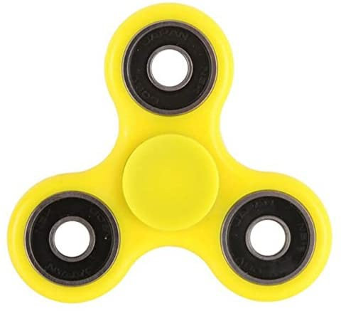 Stress Reducer Christmas Concepts/® Autism Exclusive Fidget Hand Spinner YELLOW Stress Relief