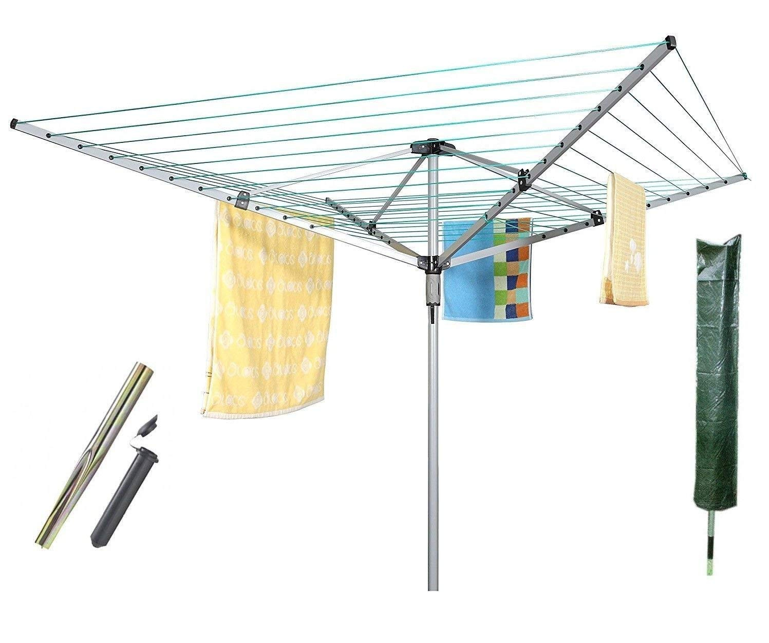 Poundstretcher rotary washing line electrical extension leads with switches