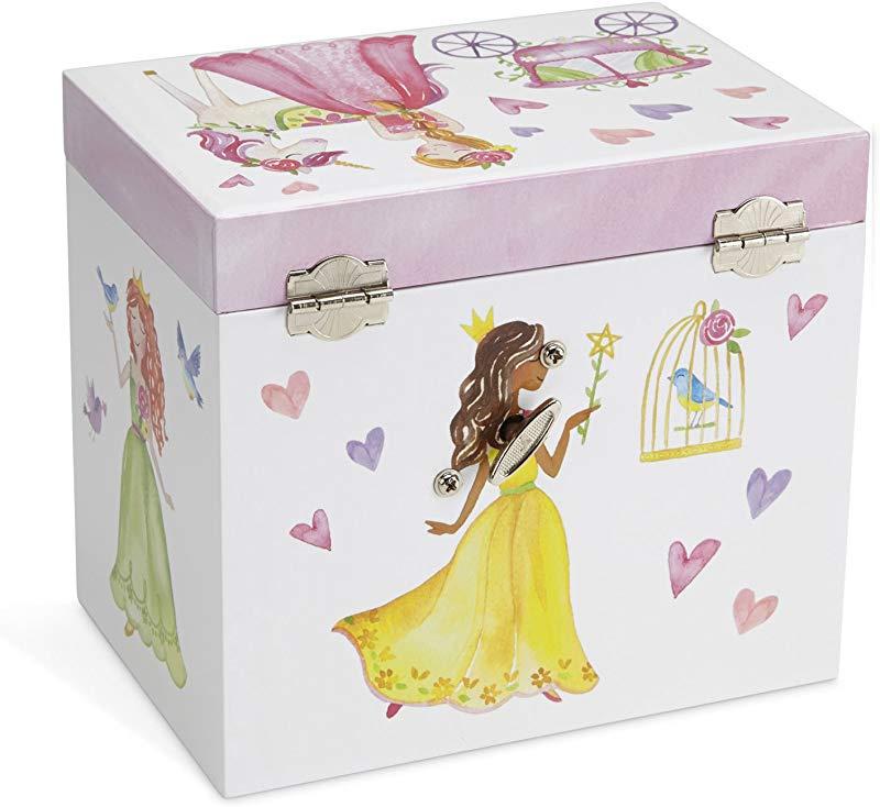 LIANA IRWIN Handmade Classical Music Box Hand-Cranked Wooden Music Box Crafts