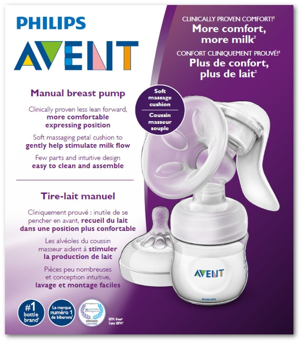 Philips Avent Breast Scf330 30 Pump Manual Clear By Philips Avent