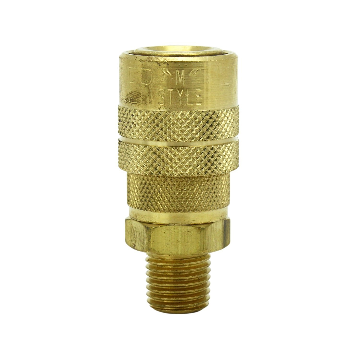 14 Male NPT M Style Milton Air fitting Quick Connect