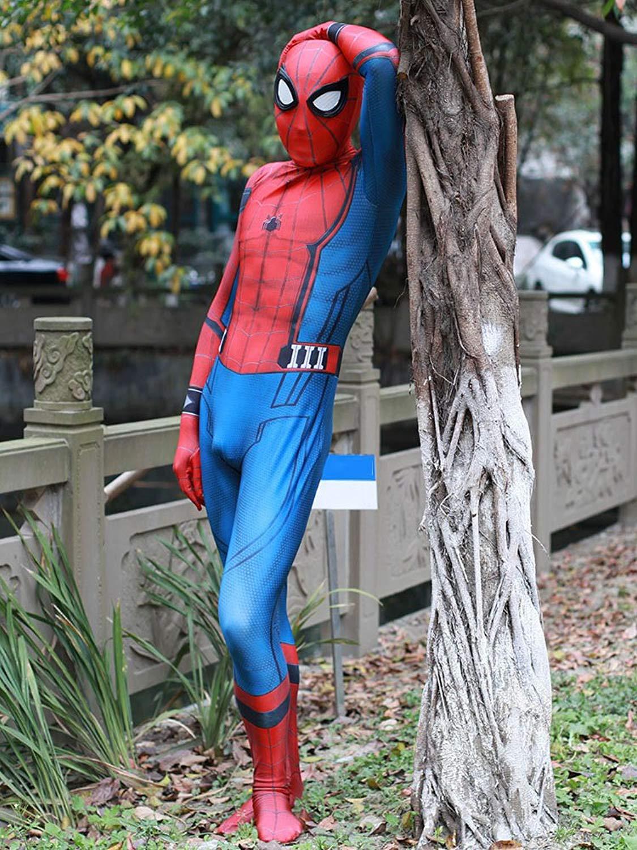 Elton Mens Full Body Spandex//Lycra Suit Unisex Full Bodysuit Halloween Original Colour Costume Skin Bodysuit