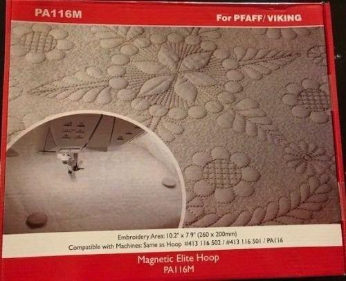 Metal//Magnetic Hoop For Husqvarna Viking Designer Embroidery Machine 200x200mm