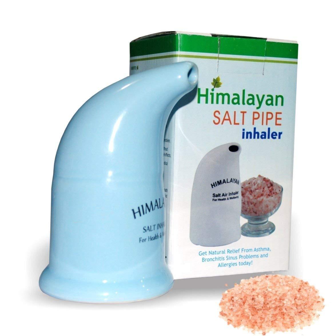 Good Health Natural Ceramic Salt Inhaler & Pink Himalayan Salt 200Grms by  Onex by Onex - Shop Online for Health in New Zealand