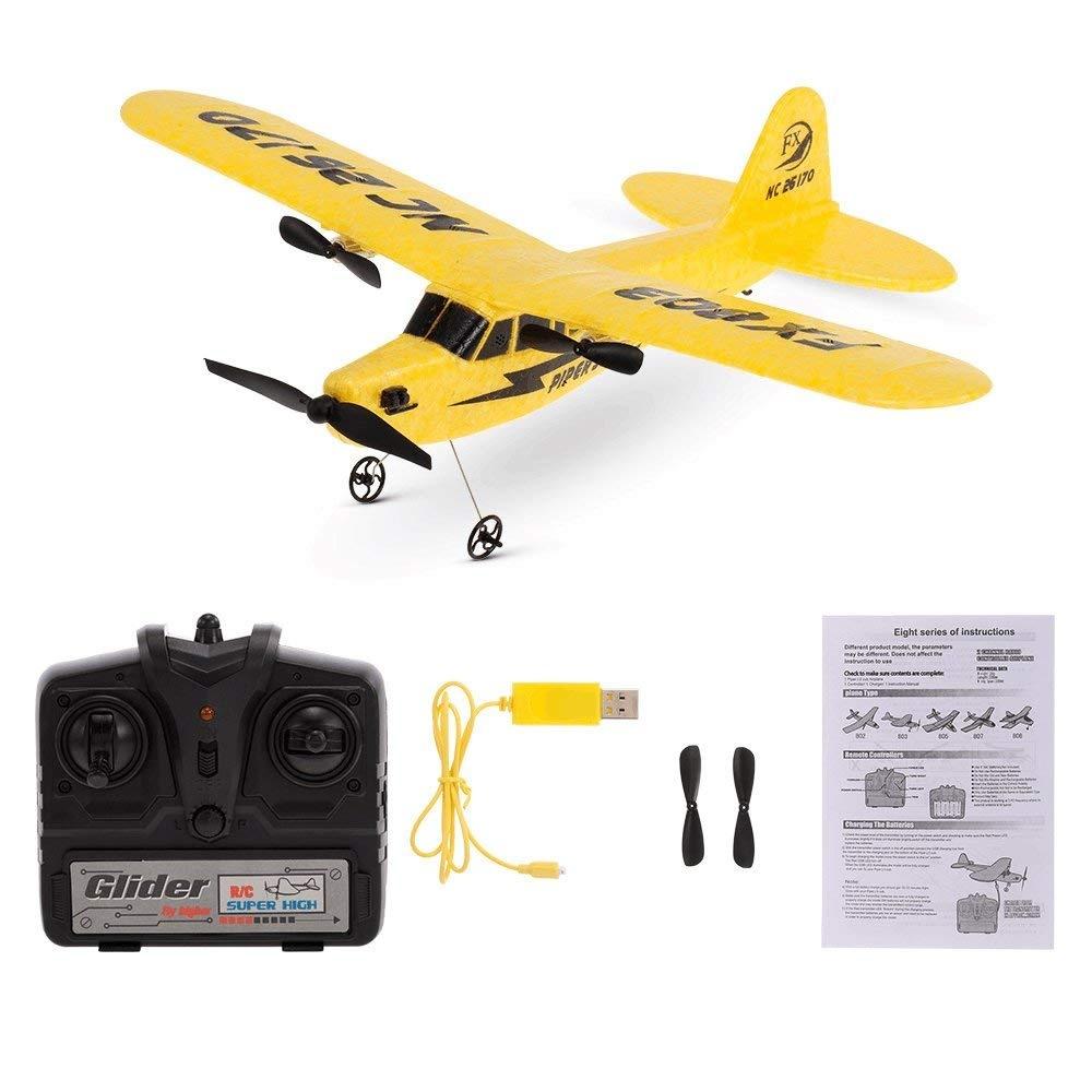 Goolsky FX-818 2.4G 2CH 480mm Wingspan Remote Control Glider Fixed ...
